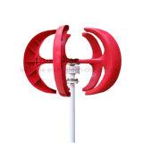 강하고 조용한 축선 바람 터빈 발전기 Vawt 수직 50W 12VDC 빛 및 휴대용 바람 발전기