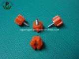 Nylon Perno de cabeza hexagonal de rosca de plástico de husillo roscado