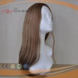 100% 최상 상한 실크 최고 기술 질 느슨한 파도치는 여자 가발 (PPG-c-0094)