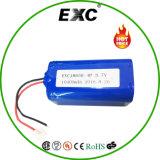 18650 alimentazione elettrica del pacchetto della batteria della batteria di litio 10400