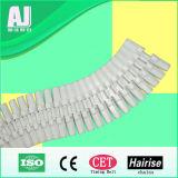 Catena di convogliatore di plastica flessibile della Tabella di Sideflex della singola cerniera