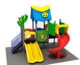 Малое пластичное скольжение для напольного парка атракционов спортивной площадки