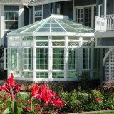 ロマンチックな家の熱絶縁体の薄板にされたガラスのアルミニウムSunroom (FT-S)