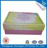 Caja de cartón de empaquetado de papel de la caja del diseño colorido