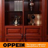 Oppein klassischer Cherrywood Melamin-Fenster-Schrank (CW21535A297)