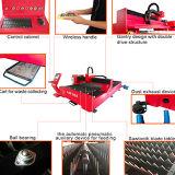 machine de découpage de laser en métal de fibre de la plaque 1000W-500W pour l'acier inoxydable de découpage
