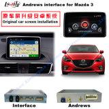 Auto-androide Navigations-Schnittstelle für Noten-Navigation des Aufsteigen-Mazda3, WiFi, BT, Mirrorlink, HD 1080P, Google Karte, Spiel Stor