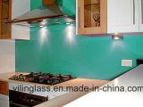 vidro calcinado cerâmico de Splashback da cor de 6mm com o certificado do Ce de SGCC