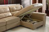 Sofá comercial moderno do couro da sala de visitas ajustado (HC3030)