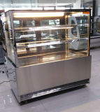 Markt-Serie gekühlte Bäckerei-Fall-Kühlvorrichtung rostfrei