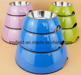 Tazón de fuente de cerámica del perro de agua del alimento del producto del perro de la fuente del animal doméstico