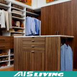 Подгонянная прогулка меламина в шкафе для домашней мебели (AIS-W004)
