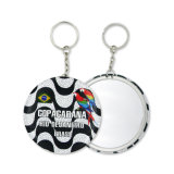 Mirror를 가진 공장 High Quality Tinplate Key Chain Souvenir Key Ring