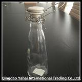 botella de cristal del almacenaje de la bebida determinada 550ml