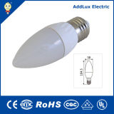 diodo emissor de luz Lighting de 3W 85V-265V E14 Cheap Wholesale SMD Candle Bulb