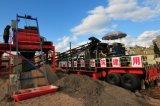 機械、移動式煉瓦作成機械を作る移動式ブロック