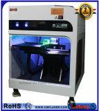 3Dクリスタルグラスの写真の緑レーザーの彫刻家レーザーのマーキング機械