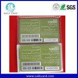 UV Barcode напечатанный Dod & серийная карточка PVC скреста No