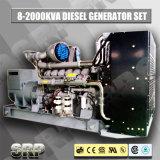 2000kVA 50Hz schalldichter Dieselgenerator angeschalten von Perkins (SDG2000PS)