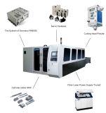 CNC de Scherpe Machine van de Laser van de Vezel voor Profielen