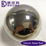Bola de metal del espejo de la depresión del acero inoxidable 304 con aplicado con brocha Polished