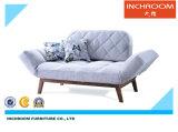 Moderne faltende Gewebe-Sofa-Bett-Wohnzimmer-Möbel