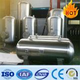 De hoge Tank van de Opslag van de Ontvanger van de Voorraad van het Gas van de Samengeperste Lucht van de Lage Druk