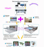 Machine automatique hydraulique Hc-B5 de presse de la chaleur