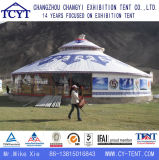 Het Kamperen van de Partij van de vrije tijd Tent Yurt van het Bamboe van de Toerist de Mongoolse