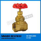 200 Wog Brass Gate Valve con Bottom Price (BW-G01)
