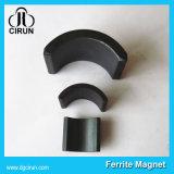 Kundenspezifischer permanenter Ferrit Wechselstrommotor-Magnet