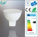 Plastique 3000k 3W CE&RoHS&SAA DEL Spot Lamp