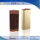 New Design Leather Custom Wholesale Wine Gift Box (2135R3)