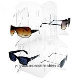 Visualización de acrílico de las gafas de sol de la calidad estupenda para la venta