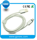 Samsung 전화를 위한 LED 램프 전시 USB 데이터 케이블