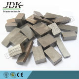 砂岩ブロックおよび平板のための最上質のダイヤモンドの切断セグメント