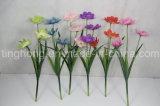 Flores artificiales vendedoras calientes del flor de cereza *3