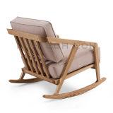 북쪽 유럽식 라운지용 의자 여가 의자 Katakana 흔들 의자