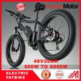48V750W 72V30ah 6000Wの脂肪質の電気バイク26inch E Fatbike