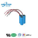 18650 pacchetto della batteria di litio di 2800mAh 1s1p con PCB/PCM