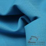 Agua y de la ropa de deportes tela tejida chaqueta al aire libre Viento-Resistente 100% de la pongis del poliester del telar jacquar abajo (53181)
