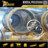رمل معدنيّة يجعل معدّ آليّ غربلة تجهيز متحرّك رمل طبل شاشة
