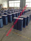 batterie de 2V2500AH OPzS, batterie d'acide de plomb noyée qui batterie profonde tubulaire de la batterie VRLA d'énergie solaire de cycle d'UPS ENV de plaque 5 ans de garantie, vie des années >20