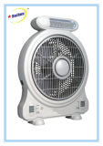 Emergency LED Light를 가진 차가운 Rechargeable Desk Fan
