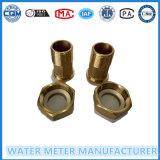 Contador del agua de cobre amarillo Connetors/accesorios/Fittngs
