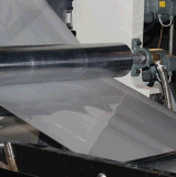 Blatt-Platte der Verdrängung-Maschinen-PP/PE/ABS/PS/Vorstand-Strangpresßling-Zeile (SJ120)