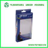Empaquetado claro plástico impreso de la caja del PVC