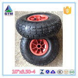 "Wheelbarrow Hand Trolley를 위한 Qingdao Cheap Pneumatic Tyre 10 "" X3.50-4"