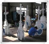 Valvola a saracinesca ad alta pressione di grande formato del CE & dell'ANSI (Z40Y- 18 '')