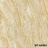 Azulejo de suelo esmaltado por completo pulido caliente de la porcelana del diseño del mármol de la venta (WG-6C05Q)